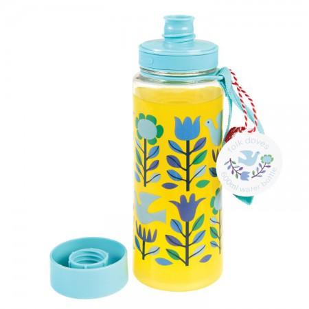 Butelka - bidon na wodę 600 ml BPA Free Folk | Rex London - butelka wypełniona sokiem