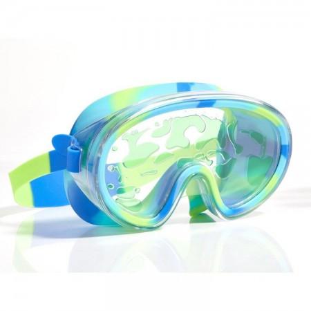 Maska do pływania Limonkowa Lawa Bling2O