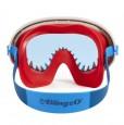 Maska do pływania Rekin - błękitne szkło Bling2O