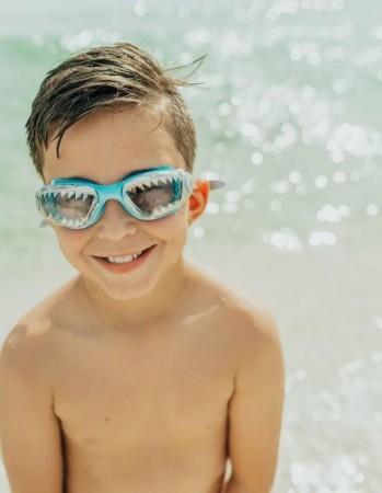 Okulary do pływania Szczęki Rekina Bling2O