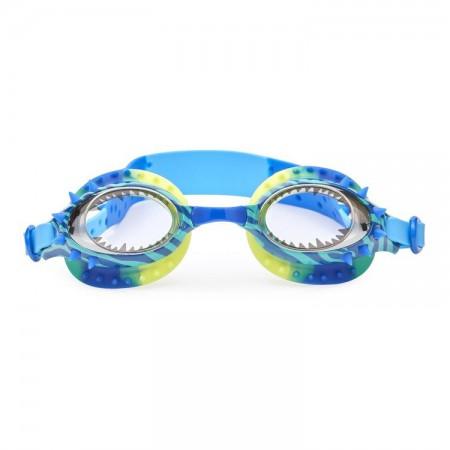 Okulary do pływania od 3 lat Dinozaur niebieski Bling2O