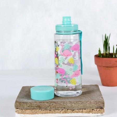 Butelka - bidon na wodę 600 ml BPA Free Flamingo Bay | Rex London