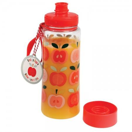 Butelka - bidon na wodę 600 ml BPA Free Vintage Apple | Rex London- butelka wypełniona sokiem