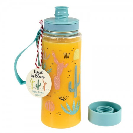 Butelka - bidon na wodę 600 ml BPA Free Desert In Bloom | Rex London - butelka wypełniona sokiem