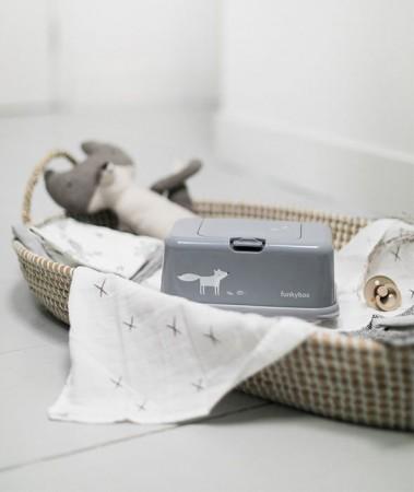Pojemnik na chusteczki | Grey Mat Funkyfox | Funkybox