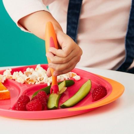 Zestaw 3 elementowy do karmienia kolor Strawberry Shake B.BOX