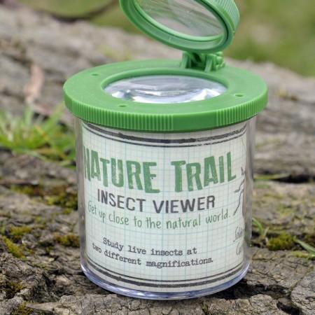 Pudełko ze szkłem powiększającym na owady Rex London