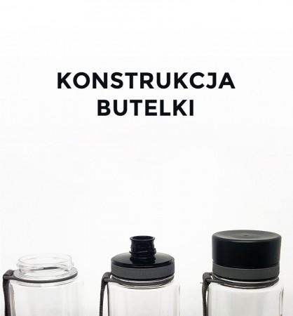 Butelka - bidon BPA Free 600 ml | Sunrise | EQUA