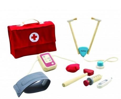 Zestaw lekarski zabawa w doktora Plan Toys