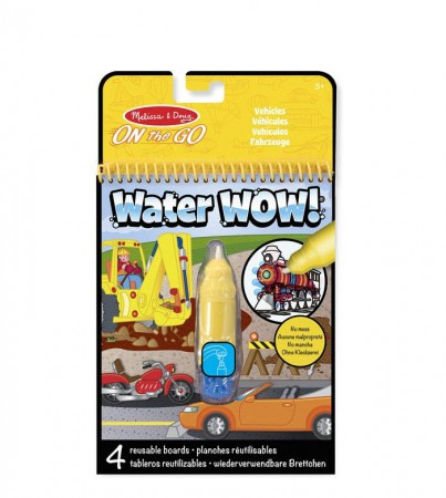 Wodna Kolorowanka Water Wow! Pojazdy Melissa & Doug