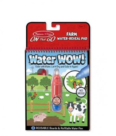 Wodna Kolorowanka Water Wow! Farma Melissa & Doug