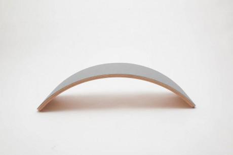 Deska do balansowania Pro Linnen z filcem Baby Mouse Wobbel