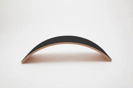 Deska do balansowania Pro Linnen z filcem Black Wobbel