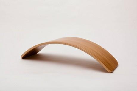 Deska do balansowania Original Bamboo bez filcu Wobbel