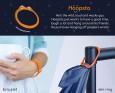 Densters - Przyczepialscy Zestaw Starter Silikonowe zaczepy i klipsy do koca