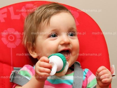 Gryzak do żywności to bezpieczne karmienie dzieci po 5 miesiącu życia