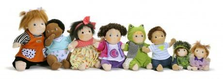 Laleczki Rubens Barn Kids mogą służyć jako przytulanka dla dzieci już od dnia narodzin