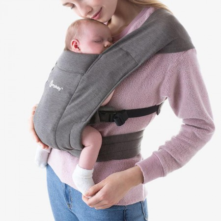 Nosidło Ergobaby Embrace Heather Grey