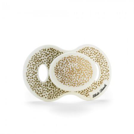 Smoczek uspokajający 3 m+ wzór Gold Shimmer Elodie Details