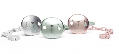 Klips do smoczka Suavinex HYGGE BABY - metaliczne, matowe - dostępne kolory