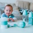Miętowy zestaw startowy dla noworodka Welcome Baby Set Suavinex HYGGE BABY
