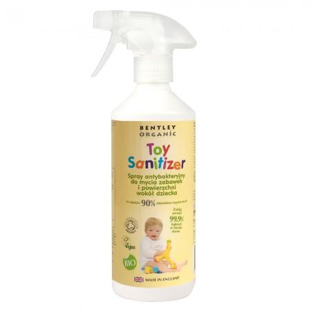 Spray dezynfekujący do mycia zabawek 500ml Bentley Organic