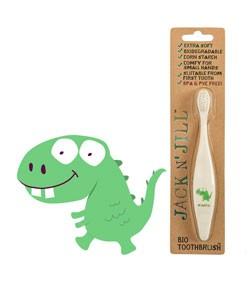 BIO Szczoteczka do zębów dla dzieci wzór Dino Jack N'Jill