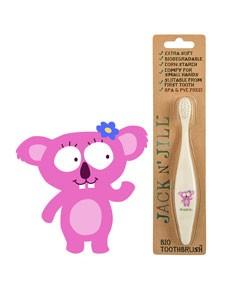 BIO Szczoteczka do zębów dla dzieci wzór Koala Jack N'Jill