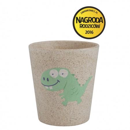 Biodegradowalny eko kubeczek dla dziecka wzór Dino Jack N'Jill