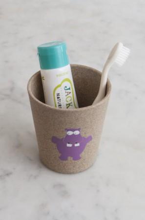Biodegradowalny eko kubeczek dla dziecka wzór Hippo Jack N'Jill