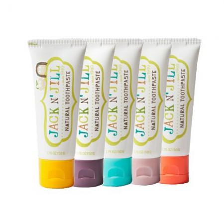 Naturalna pasta do zębów Jack N'Jill - dostępne smaki