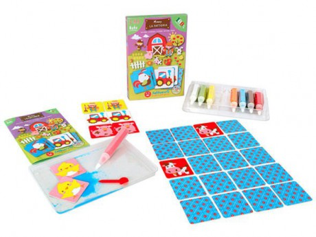 Magiczny piasek do kolorowania Smart Kit Memory Farma Sabbiarelli