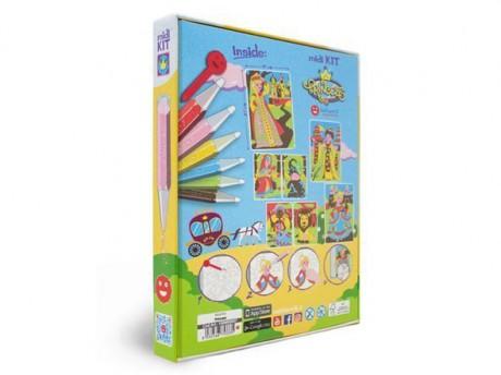 Magiczny piasek do kolorowania Mini Kit Księżniczki Sabbiarelli