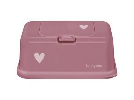 Pojemnik na chusteczki | Punch Pink Heart  | Funkybox