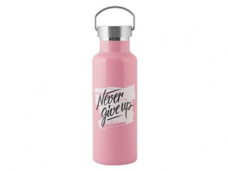 Butelka Termiczna ze Stali Nierdzewnej 0,5l Pink H&H Lifestyle