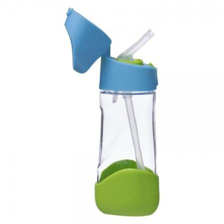 Butelka tritanowa ze słomką 450 ml kolor Ocean Breeze B.BOX