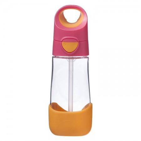 Butelka tritanowa ze słomką 450 ml kolor Strawberry Shake B.BOX