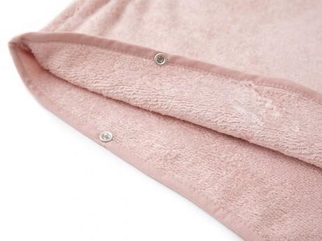 Ręcznik bambusowy poncho 2-4 lat, kolor różowy, Bamboom