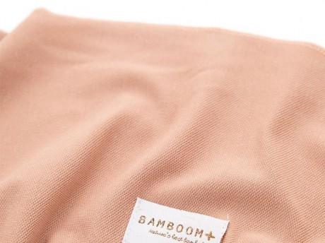 Chusta bambusowa do noszenia dziecka, różowa Bamboom