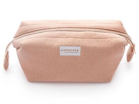 Kosmetyczka bambusowa kolor Old Pink Bamboom