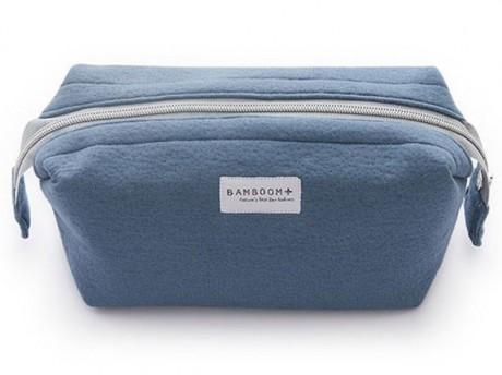 Kosmetyczka bambusowa kolor Blue Cobalt Bamboom