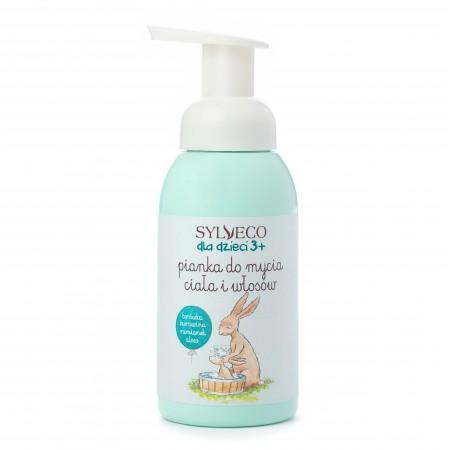 Pianka do mycia ciała i włosów SYLVECO dla dzieci