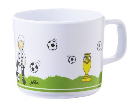 Kubek do picia z melaminy | Piłkarz | Mila
