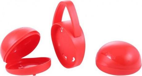 Podwójne opakowanie na smoczki | kolor czerwony | Suavinex