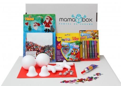 Mamabox - pomysł na kreatywną zabawę | Magiczne ozdoby świąteczne