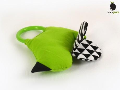 Ptaszek Marzyciel - oryginalna zabawka dla niemowląt Black Plum