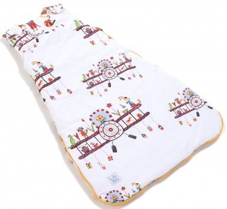 Śpiworek dla niemowlaka 0-6m | GREAT TRIP | bawełna | Lela Blanc