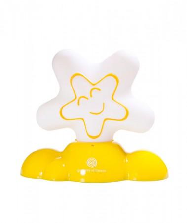 Lampka nocna - przytulanka | żółta | 40settimane