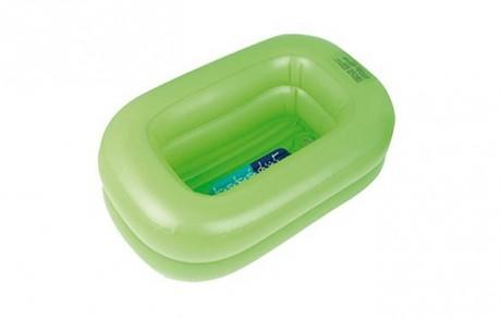 Nadmuchiwana wanienka do kąpieli dziecka | zielona | Bebé Due