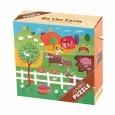 Puzzle jumbo | 25 elementów | Na farmie | Mudpuppy